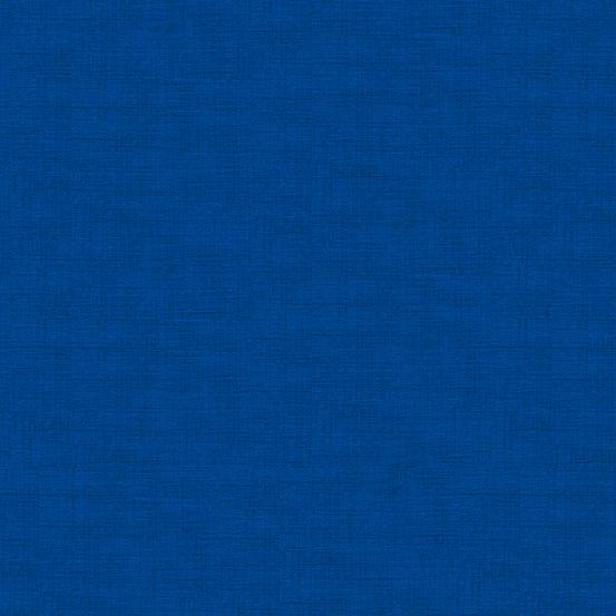 Makower Andover Linen Texture TP 1473 T8 Teal Cotton Fabric