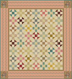 Pebble Path Quilt Pattern by Cozy Quilt Designs Twin