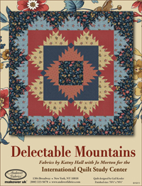 Delectable Mountains Quilt with Other (Quilt in a Day) by Eleanor
