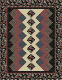 """""""Reverie"""" Free Patriotic Quilt Pattern designed by Tiffany Hayes from Andover Fabrics"""